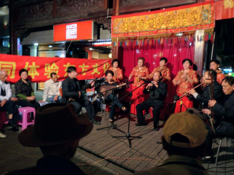 Xiamen,dans la rue piétonne