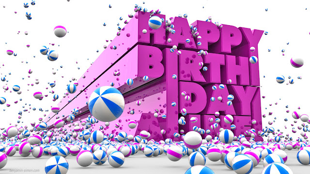 Happy Birthday 3D picture for Facebook ,Happy Birthday 3D picture for Facebook