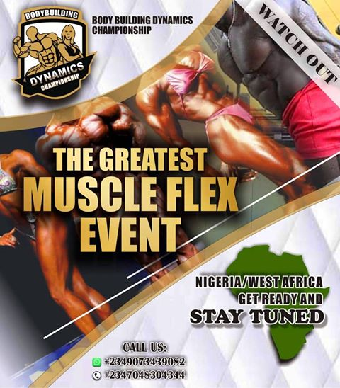 BODY BUILDING DYNAMIC CHAMPIONSHIP (BDC)  MAIDEN EDITION HOLDS IN NIGERIA, SD news blog, latest events in nigeria, latest competitions in Nigeria