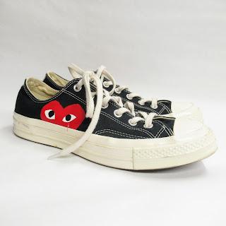 Comme des Garçons Converse Play Sneakers