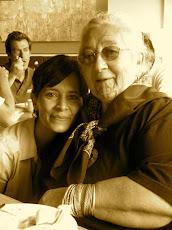Mirian Vilela and Pauline Tangiora