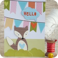 32- fox card-creative rox-craft asylum-sizzix-cardmaking