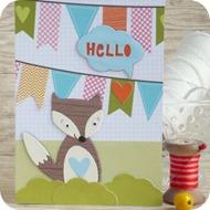 32- fox card-creative rox-craft asylum-sizzix-cardmaking