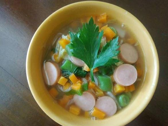 Resep Masakan Dari Sosis Sayur Buncis Sawi Wortel Sosis