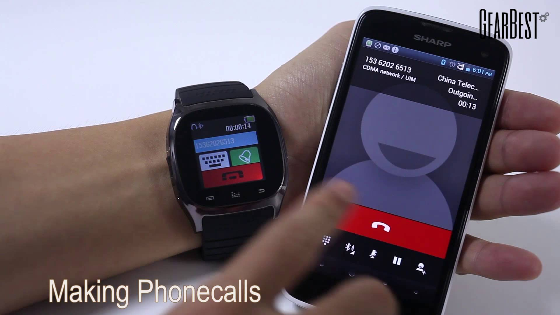 Meet RWATCH M26 SmartWatch, Make Calls, Chat, Install Apps ...