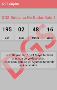 DGS Sayacı 2018 - náhled