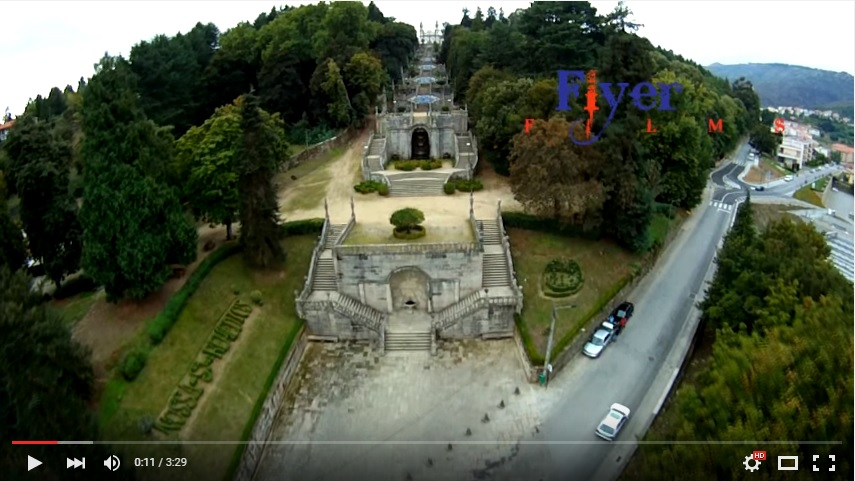 Vídeo - Vista aérea - Nossa Senhora dos Remédios - Lamego