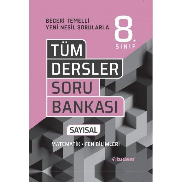 Tudem Yayınları 8.Sınıf Tüm Dersler Sayısal Soru Bankası