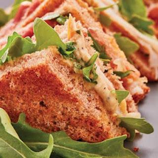 Turkey, Prosciutto and Hummus Sandwich