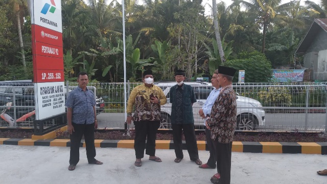 Tinjau Pertashop di Sikabu Padang Pariaman, Bupati Merasa Senang