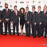 OIC - ENTSIMAGES.COM - Ella Eyre and England Rugby squad at the  Carry Them Home - rugby dinner (Suits provide by Eden Park) at the Grosvenor House London 5th August 2015 Photo Mobis Photos/OIC 0203 174 1069