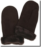 Simons Leather Sheepskin Mittens
