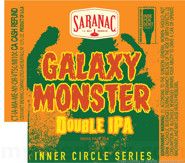 Saranac Galaxy Monster Coming To Inner Circle Series