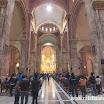 2014-07-06 10-22 Cuenca katedra, z prawej figura JPII.JPG