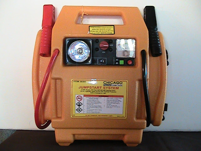 Rechargeable Jump start purchased for $39 at