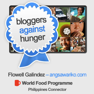 oin Me and become a Blogger Against Hunger