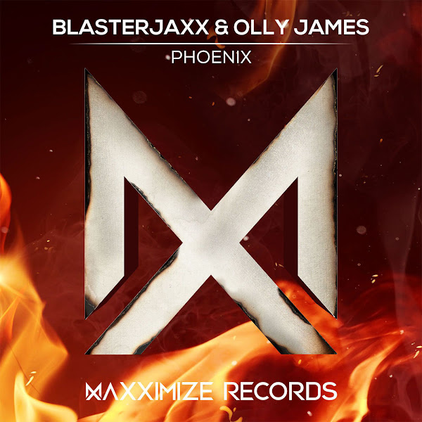 BlasterJaxx & Olly James - Phoenix - Single Cover