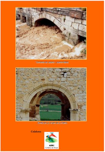 Contraportada Revista Pancrudo nº11 (2007). Tormenta de verano y Ermita de la Palma, 2º y 3º Premio Concurso Fotográfico (Evaristo Valero Nuez)