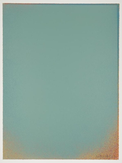 Pale Blue II 1970 Jules Olitski 1922-2007 Presented by Waddington Galleries through the Institute of Contemporary Prints 1975 http://www.tate.org.uk/art/work/P01250