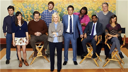 The full cast of Parks and Recreation