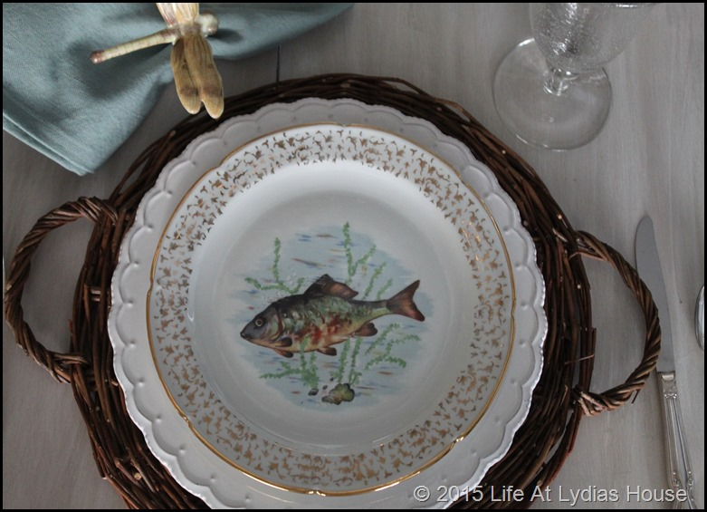 Limoges fish plate 4
