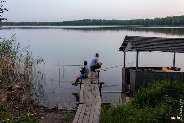 Ось так ми з Ярославом ловили рибу