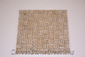Basket Weave, Flooring, Flooring & Mosaics, Interior, Mosaic, Natural, Stone, Tile, Travertine