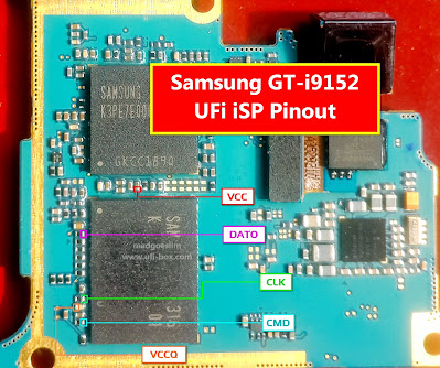 ISP PinOut Samsung GT-I9152