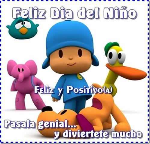 Feliz día del niño con Pocoyo