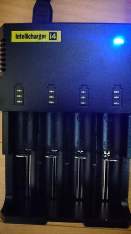 DSC 1372 thumb%25255B3%25255D - 【バッテリー/充電器】「NITECORE ナイトコア Intellicharger i4」レビュー。4本同時充電可能、コスパに優れたバッテリーチャージャー。