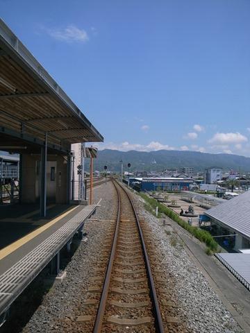 安芸駅高知県ホーム