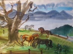 Photo: Ludvík Kunc - akvarel č. 9