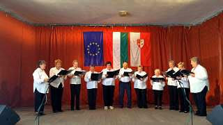 Polgármester Klarinétja Jákó Búzavirág Nyugdíjas Klub Falunap Jákó