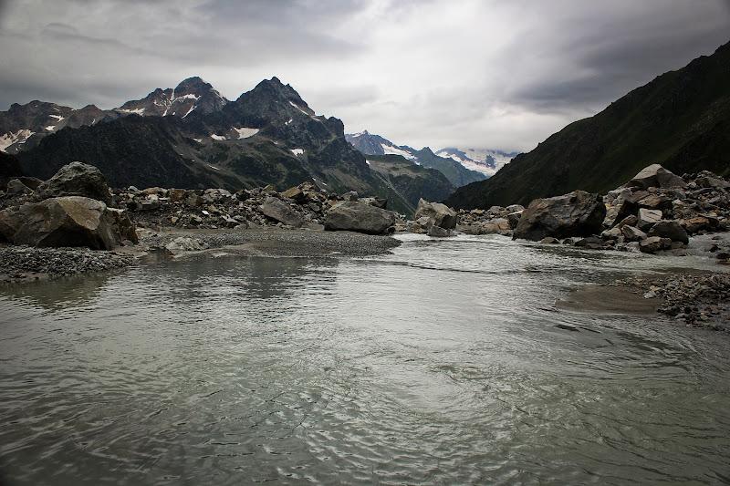 Начало горной реки