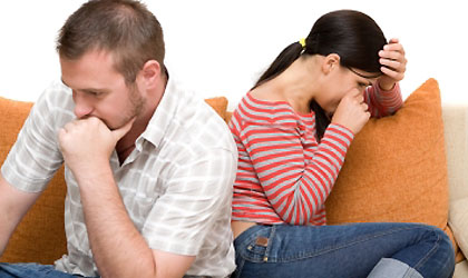 Living In A Miserable Marriage Image