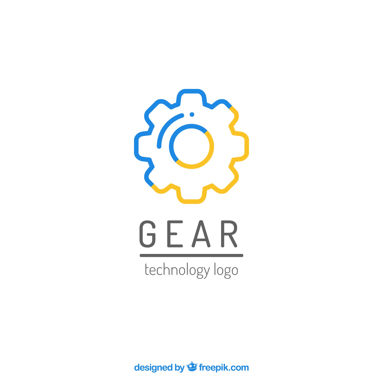 Graphics Gear Logo Vector	 Free Download Vector CDR, AI, EPS and PNG Formats