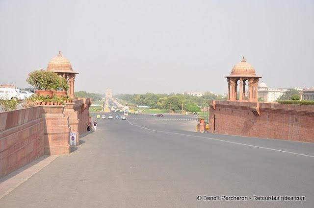 Rajpath, l'avenue des grands défilés de New Delhi