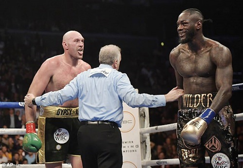 Tyson Fury Calls Out Anthony Joshua To A Fight After A Draw With Wilder