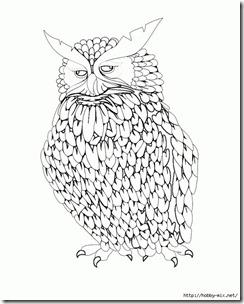 dibujos de buhod en blanco y negro (29)