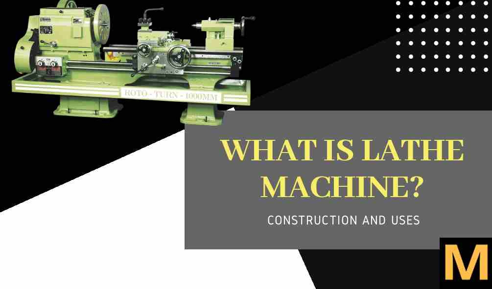 Lathe machine - explained | The Mechanical post