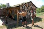 I Sydafrika kan man godt gå på jagt uden jagttegn - man skal lige skyde et par prøveskud ...