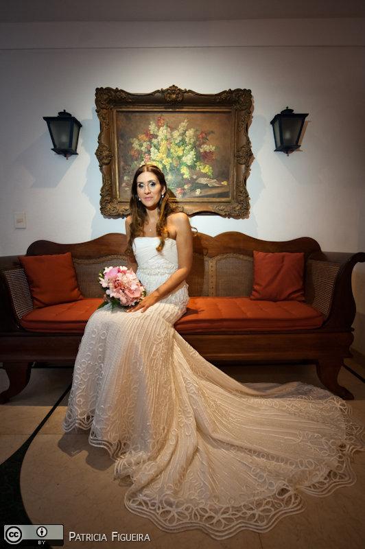 Foto de casamento 0627 de Beatriz e Leonardo. Marcações: 23/04/2011, Casamento Beatriz e Leonardo, Fotos de Vestido, La Novia, Rio de Janeiro, Vestido, Vestido de Noiva.