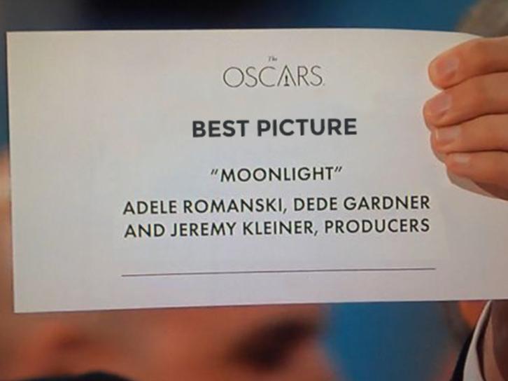 El pequeño error de diseño de los sobres de los Oscar