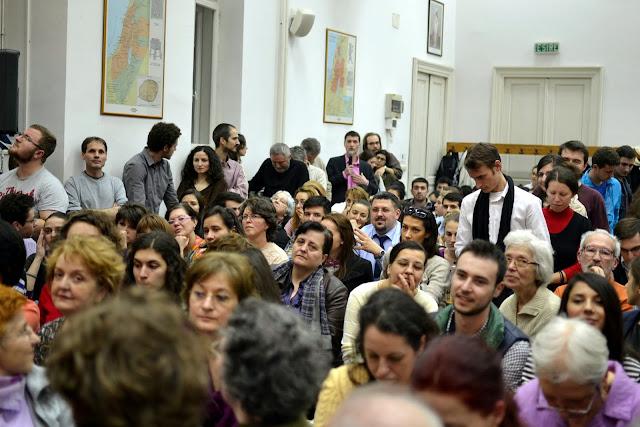 Conferinta Despre martiri cu Dan Puric, FTOUB 101