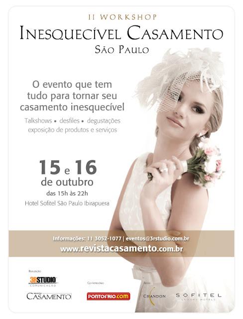 iiwicsp informacao Quer ir ao Workshop Inesquecível Casamento São Paulo 2011?