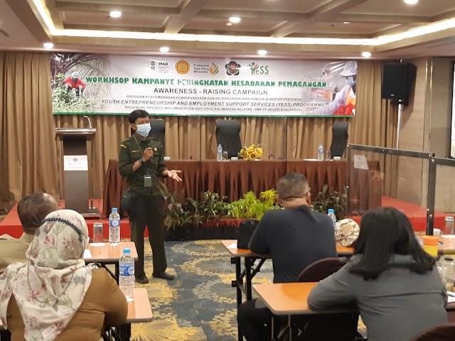 Workshop Kampanye Peningkatan Kesadaran Pemagangan Program YESS di Kalsel