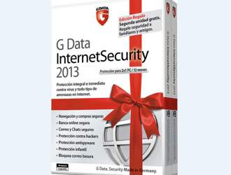 G Data lanza una edición navideña de su InternetSecurity 2013