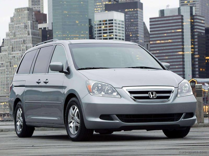 2007 honda odyssey minivan specifications pictures prices for Honda odyssey height