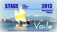 Génération_Opti Canet-en-Roussillon Stage_de_Voile