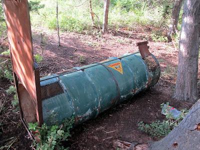 Bear trap in campsite #9